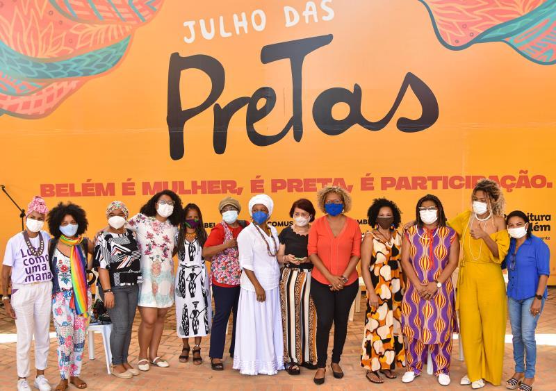Diversas entidades de mulheres negras participam do evento em homenagem ao Dia Internacional da Mulher Negra Latino-Americana e Caribenha