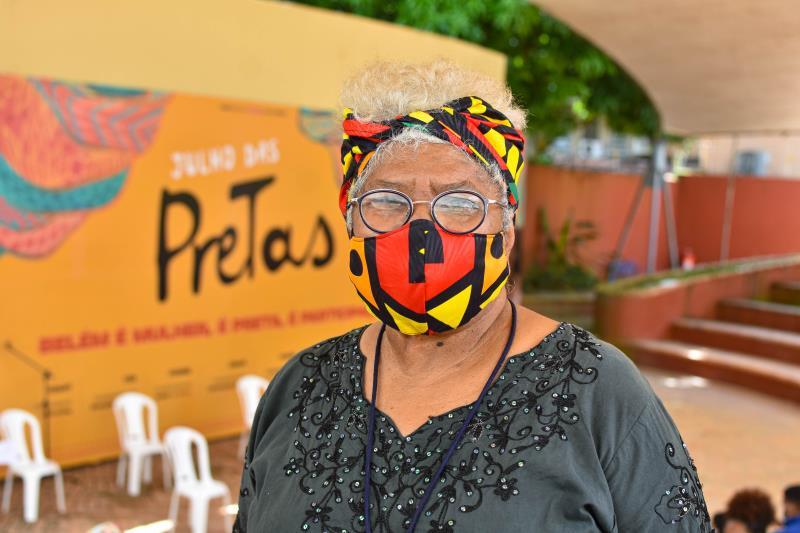 Maria Luíza Nunes, do coletivo Mulheres Negras, afirma que a data dar visibilidade  às mulheres pretas