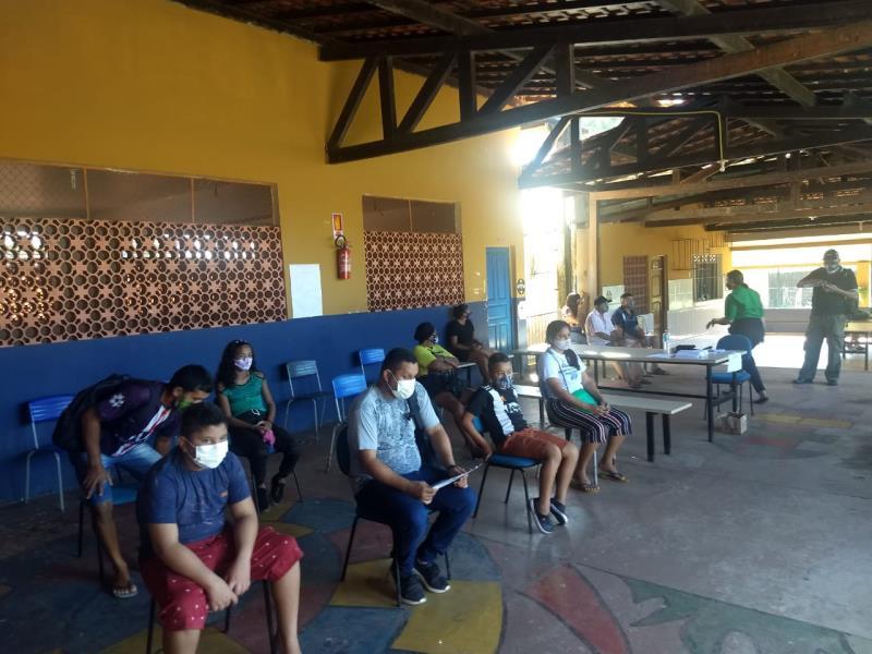 A ação é realizada todas as terças-feiras de julho, na escola municipal Abel Martins. A próxima ação acontecerá no dia 27 de julho.