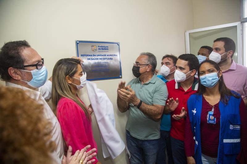 Unidade de Saúde de Cotijuba foi reestruturada pela Prefeitura Municipal