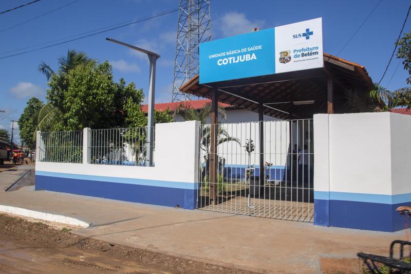 UBS Cotijuba toda reformada e com serviços ampliados funcionará agora por 24h