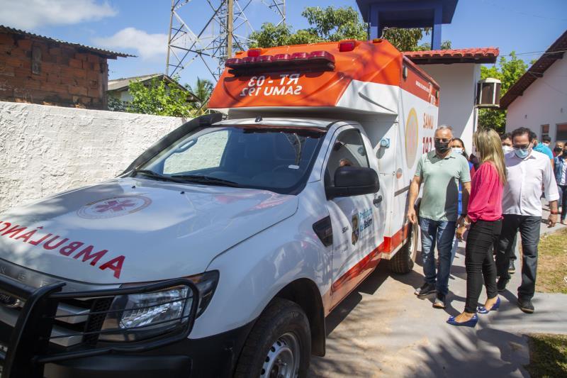 Nova ambulância entregue para a Unidade de Saúde de Cotijuba