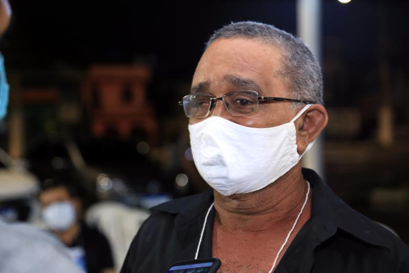 Eleito delegado pelo Jurunas, o aposentado Francisco Alves quer ser ouvido e buscar investimentos para o bairro .