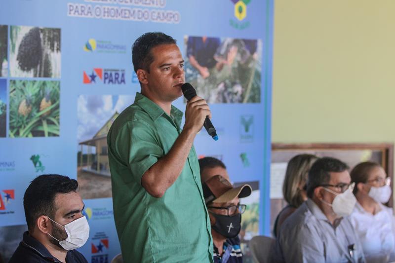 Secretário de Agricultura Renan Ohse
