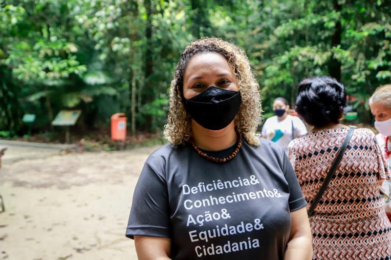 """Ana Carolina Salomão, assistente da Apae: """"Projeto é um grande passo para alcançar a inclusão social de forma ampla"""""""