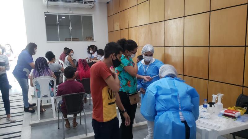 200 doses de vacina contra covid-19 foram destinadas aos quilombolas nesta terça-feira, 14