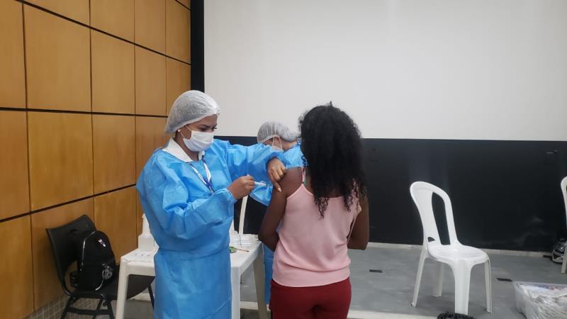 Quilombolas que residem na cidade tiveram oportunidade de receber a segunda dose da vacina contra covid-19