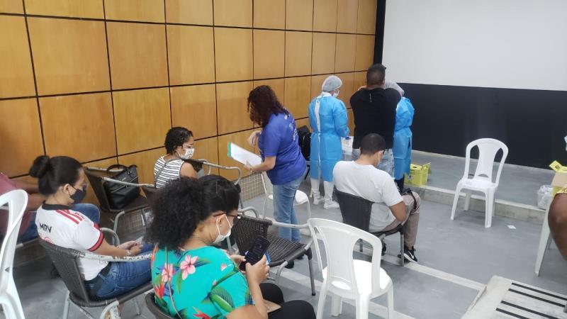 Vacinação dos quilombolas ocorreu nesta terça-feira, 14, das 9h às 17h, na Fumbel