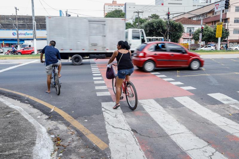 Ciclistas e pedestres são o principal público da Semana Nacional do Trânsito