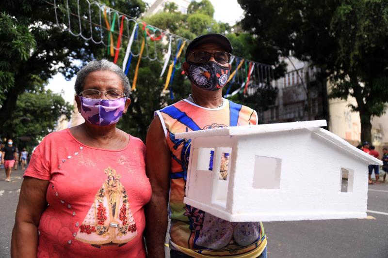 Boaventura Souza da Conceição - Pedreiro e sua esposa Maria Santana Batista - dona de casa