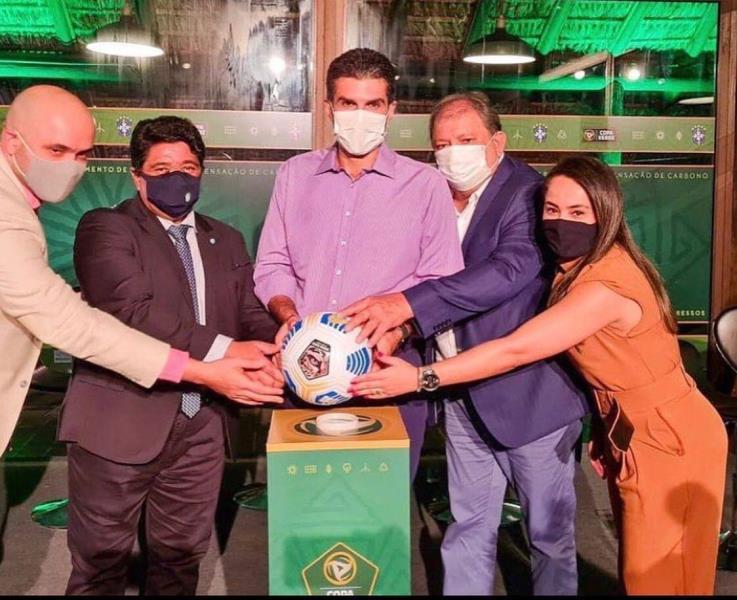 Sejel participa do lançamento da Copa Verde 2021