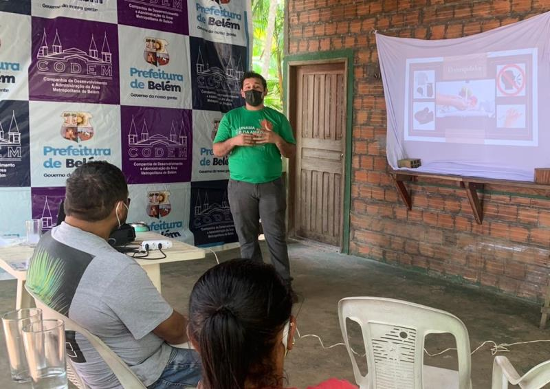 Atividade preparatória ao circuito Gastronomia das Ilhas contou com professores da Unama, que proferiram palestras na ilha do Combu