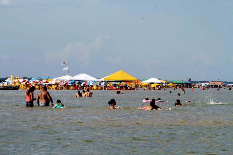 Praia do Tucunaré em Marabá tem verão tranquilo - REDEPARÁ