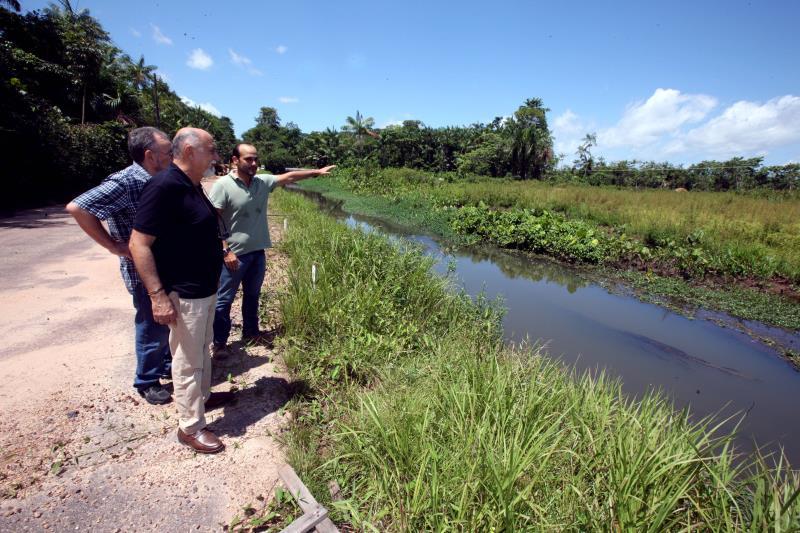 O Parque Ambiental do Utinga, que está recebendo ampla reforma e melhorias, foi o segundo local visitado pelo governador na manhã deste sábado