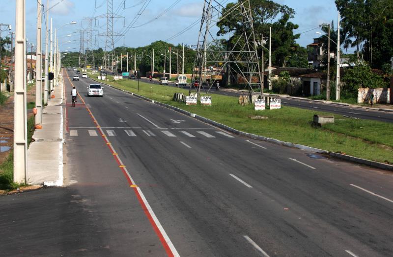 A obra vai da rotatória do 40 Horas até a rodovia BR-316, e será inaugurada com o término dos serviços de sinalização e urbanismo