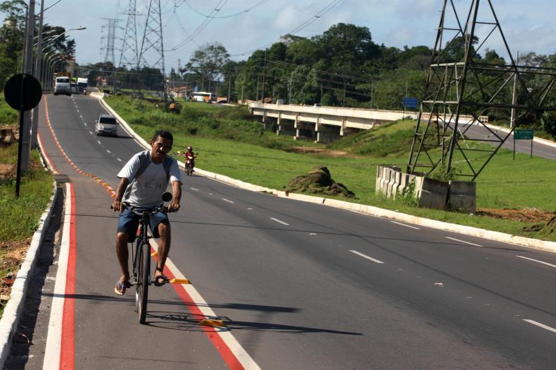 O projeto abrange infraestrutura completa e pavimentação de mais de nove quilômetros, atravessando cinco bairros do município de Ananindeua.