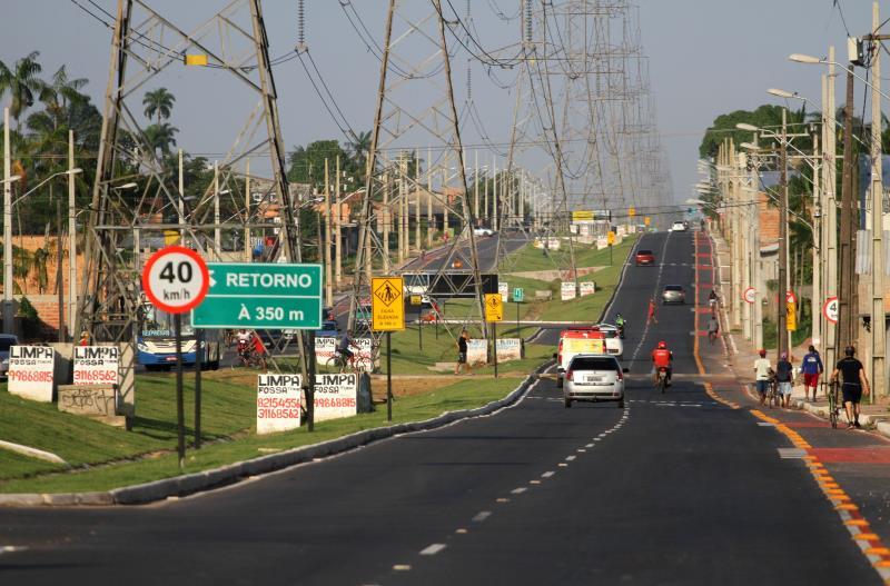 O projeto incluiu serviços de engenharia para implantação da infraestrutura e pavimentação, além de urbanismo, sinalização e iluminação