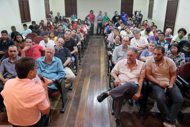 O evento faz parte da programação paralela do XIV Festival de Ópera do Theatro da Paz, que é realizado pelo Governo do Pará, por meio da Secult