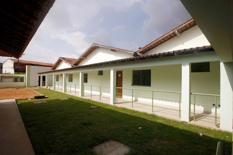 O novo prédio apresenta projeto arquitetônico obedecendo as resoluções da Anvisa e do Conselho Nacional de Assistência Social