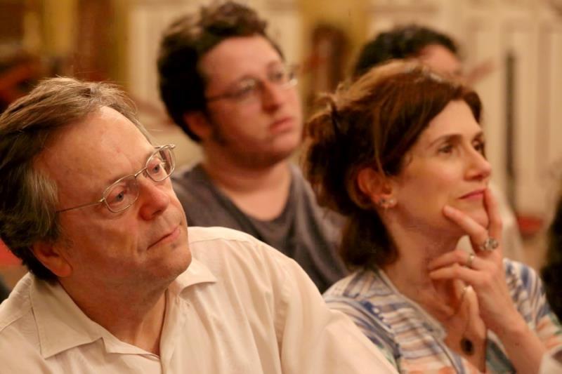 O evento atraiu um grande público ao foyer do teatro, incluindo o diretor cênico da ópera, o cineasta paulista Fernando Meirelles.