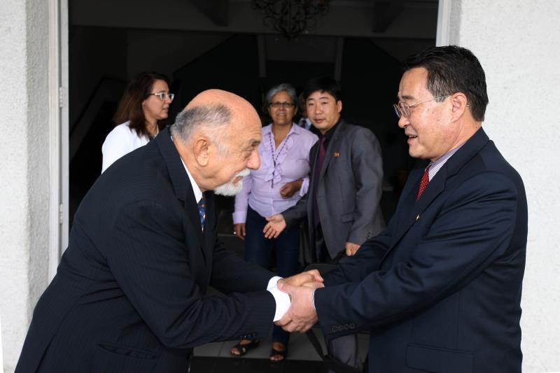 Para o governador, apesar da distância cultural e territorial entre o Pará e a Coreia, existem pontos complementares entre as economias
