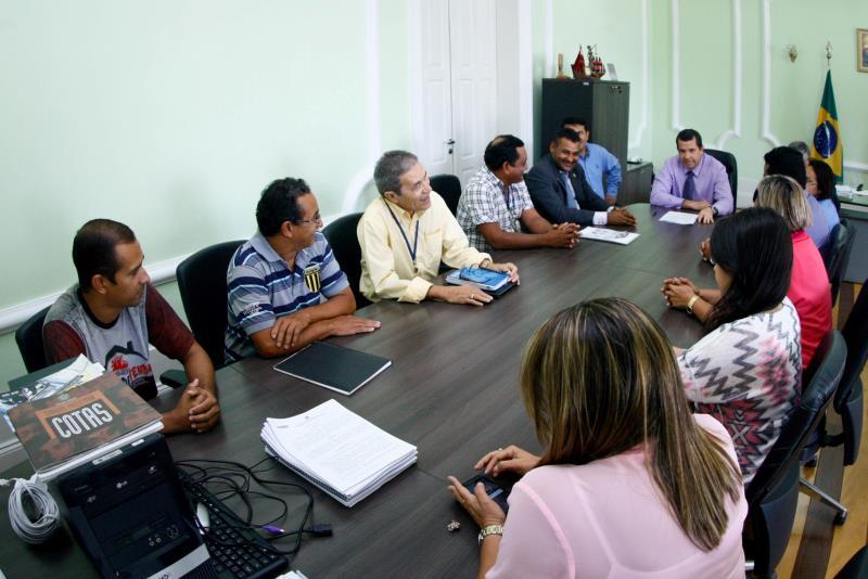 Durante a reunião entre representantes da Susipe e da Abecas foi informado pela Associação que três turmas já estão com as aulas programadas