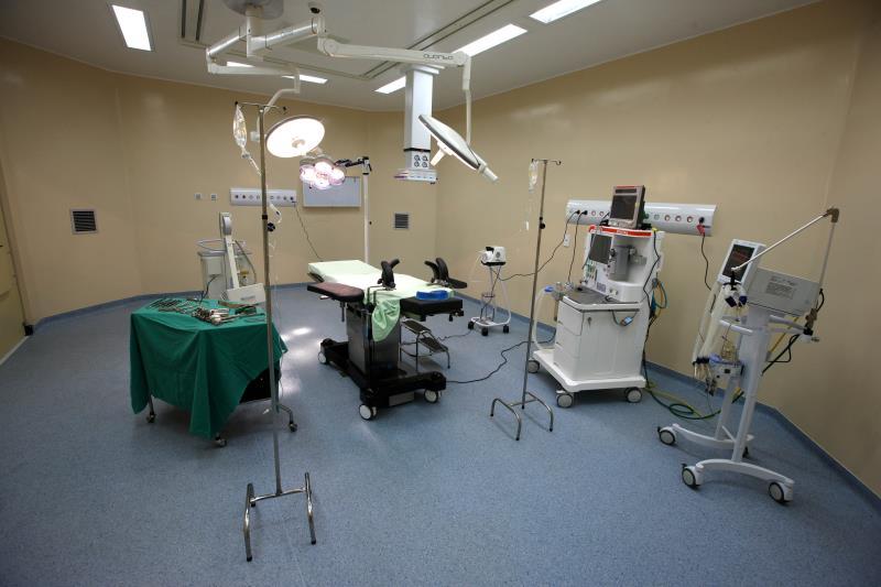 Distribuídas por cinco andares estão as áreas de quimioterapia, centro cirúrgico, centro de terapia intensiva, clínicas pediátrica e de ginecologia