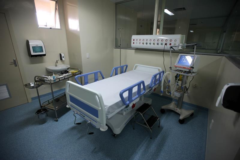 Construído anexo ao Hospital Ophir Loyola, o novo centro médico terá 108 leitos, sendo 10 de Unidade de Terapia Intensiva, divididos em cinco andares