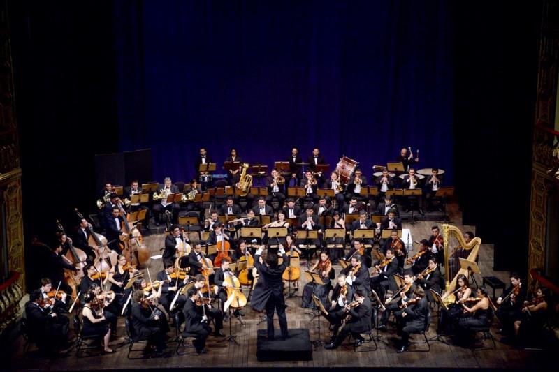 Nesta quinta-feira, 12, a Orquestra Sinfônica do Theatro da Paz apresenta peças inéditas em Belém, com entrada franca.
