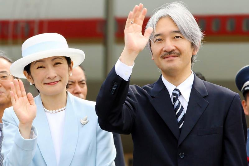 O príncipe do Japão, Akishino, e a esposa, a princesa Kiko, chegam ao Pará no próximo dia 3 de novembro para cumprir agenda no Estado