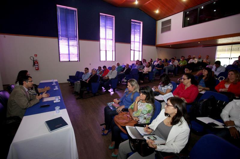 Os gestores de Belém, Ananindeua, Marituba, Benevides, Santa Bárbara, Santa Isabel e Castanhal participaram do seminário nesta segunda, 23