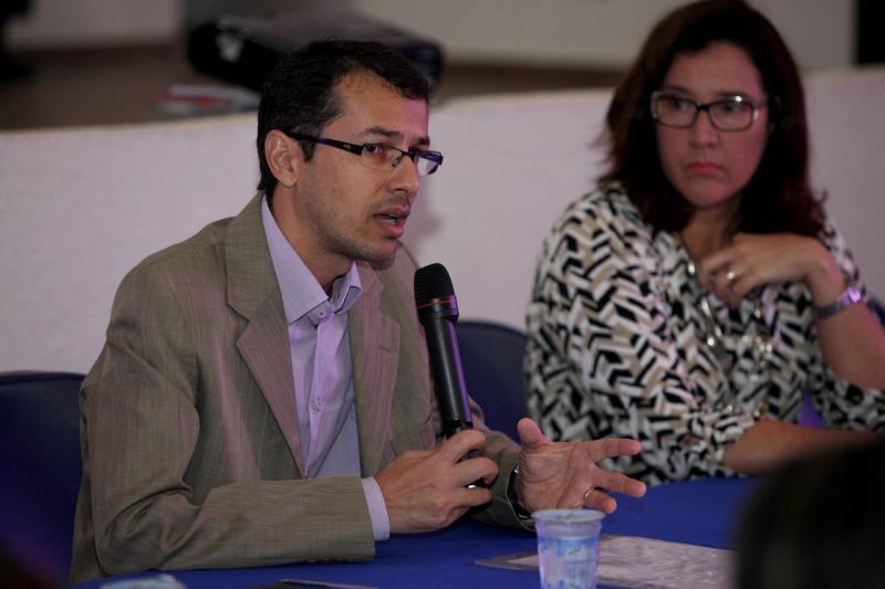 """""""A partir do momento que você agrega políticas, a tendência é encontrar melhores caminhos e a melhoria dos serviços"""", disse Luciano Dias, da Cosanpa"""