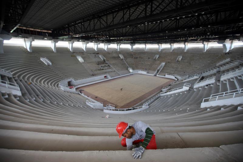 O ginásio foi projetado para receber um público de 11.970 pessoas. Deste total, 247 lugares serão destinados aos portadores de necessidades especais