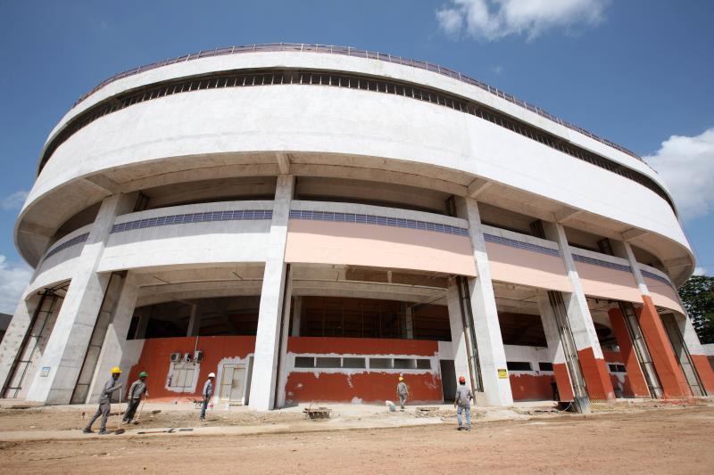 Com 95% da obra concluída, o Ginásio Poliesportivo do Estádio Olímpico do Pará, será entregue à população em janeiro de 2016.