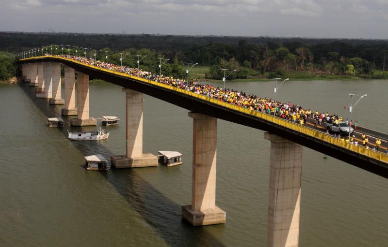 A obra restaura a integridade da Alça Viária, mais importante via de ligação entre a região metropolitana e as rodovias de acesso ao sul do Pará