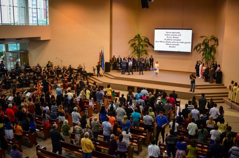 Às 17h30, será realizado o Culto Evangélico na Igreja Central Assembleia de Deus, localizada na travessa 14 de Março, esquina com avenida Governador José Malcher