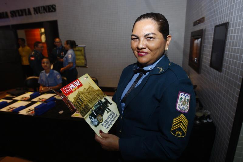 A história da Casa Militar do Pará foi registrada em uma revista lançada durante o evento, que será distribuída aos órgão públicos estaduais