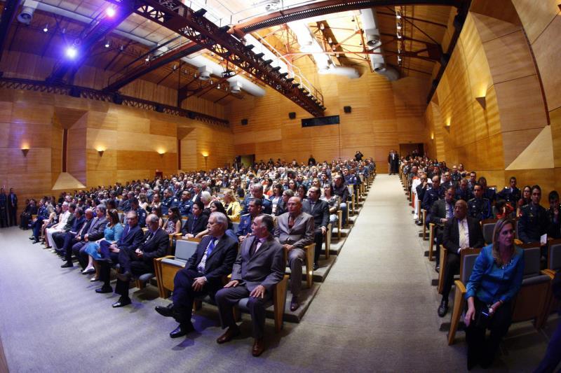 O centenário da Casa Militar do Estado do Pará foi comemorado com uma cerimônia de entrega da Medalha Governador Lauro Sodré a 37 personalidades, militares e civis