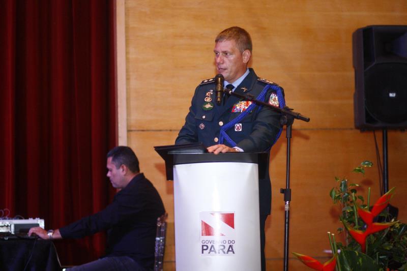 O chefe da Casa Militar, Cesar Melo, agradeceu a toda a equipe e a todos os integrantes que já passaram pela instituição