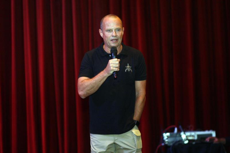 A cerimônia foi encerrada com aula magna ministrada pelo ex-capitão do Bope e mestre em Antropologia, Paulo Storani