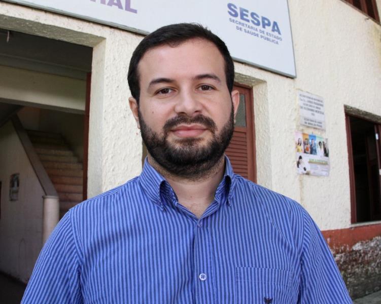 Coordenador estadual da Saúde do Homem, Carlos Sales Júnior.  FOTO: CRISTINO MARTINS / AG. PARÁ DATA: 08.08.2017 BELÉM - PARÁ